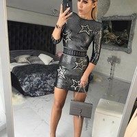 Luna Luxury Designer Mini Dress