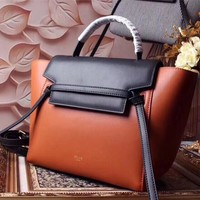 Ready Stock Celine Women's Classic Leather Handbag Inclined Shoulder Bag #2231