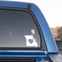Missouri Love Sticker for Cars and Trucks