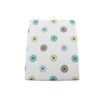 Kids Line Toyland Button Print Fitted Crib Sheet