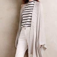 Bamboo Pointelle Poncho by Anthropologie