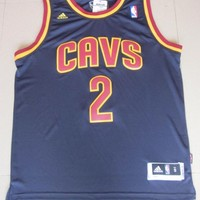 Kyrie Irving 2 Cleveland Cavaliers NBA Basketball Jersey Kyrie Irving Cleveland Cavaliers