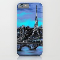 Eiffel Tower ~ Paris France iPhone & iPod Case by RokinRonda