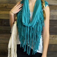 New Frontier Fringe Infinity Scarves
