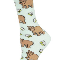 Bears and Bees Ankle Socks - Topshop