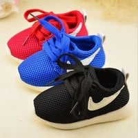 2017 Kid's casual sport shoes Fashion baby Shoes Boys Girls Shoes Running net Shoes 3