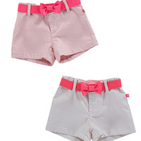 Billieblush Iridescent Shorts with Elastic Belt - U14050 - FINAL SALE