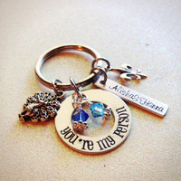 Grey's Anatomy-Inspired Keychain, You're My Person, Personalized and Custom Made, Great Gift for Best Friends