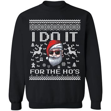 Do it for the Hos Ugly christmas sweater