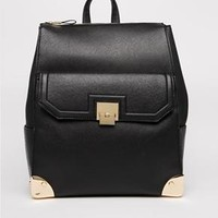 New Look | New Look Crosshatch Backpack with Pocket at ASOS