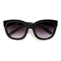 Feline Black Sunglasses