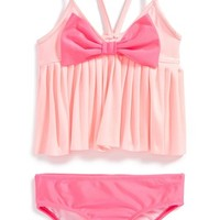 Girl's Love U Lots Two-Piece Swimsuit