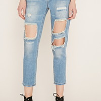Contemporary Distressed Jeans   Forever 21 - 2000185809