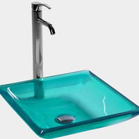 Rectangular Bathroom Resin Acrylic Counter Top Sink Vesel Solid surface Stone cloakroom Vanity Colored  Wash Basin  3858