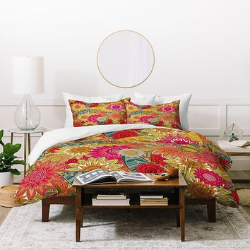 Sharon Turner Sunshine Garden Duvet Cover