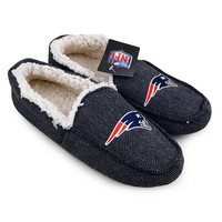 NFL New England Patriots Loafer Slippers