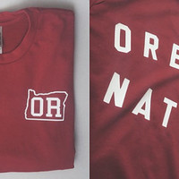"Custom State ""Native"" Sueded Tees"