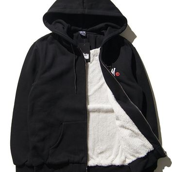 Padded Stussy Thicken Cotton Hoodies [103864991756]