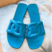 Hermes new style pig nose holiday slippers