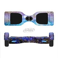 The Glowing Space Texture Full-Body Skin Set for the Smart Drifting SuperCharged iiRov HoverBoard