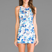 Casper & Pearl Montana Tank Dress in Blue Floral from REVOLVEclothing.com