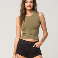 FREE PEOPLE Cropped Womens Muscle Tank | Tanks