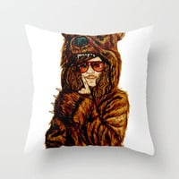 Workaholics Throw Pillow by Lydia Dick   Society6