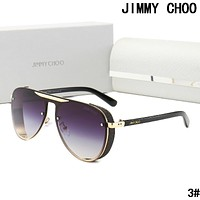 JIMMY CHOO Popular Woman Men Sun Shades Eyeglasses Glasses Sunglasses 3#