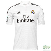 14/15 Real Madrid Jersey  Free Patches!!!! Free Shipping!!
