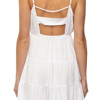 wv grace ruffle cami dress