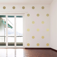 "4"" Polka Dots Wall Decals"