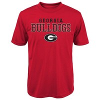 Georgia Bulldogs Fulcrum Performance Tee - Boys 8-20, Size: