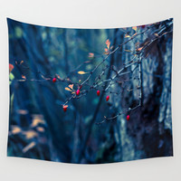 Will You Ever Just Be Wall Tapestry by Faded  Photos