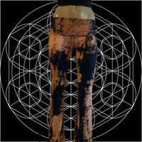 Tigers Eye Tie Dyed Yoga Pants