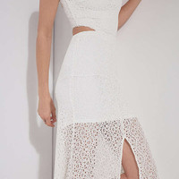 Ali & Jay Crystal Garden Lace Maxi Dress | Urban Outfitters