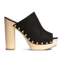 Platform Slip-in Shoes - from H&M