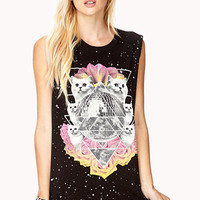 Space Cat Muscle Tee