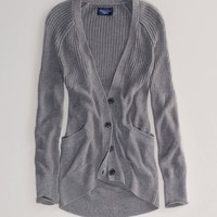 AE Solid Girlfriend Cardigan | American Eagle Outfitters