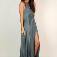 Fashion Queen Maxi Dress in Riverside