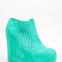WORTHY-127A Wedge Bootie
