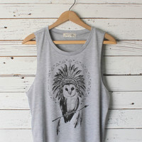 Chief Owl Muscle Tank