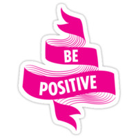 Be Positive Banner
