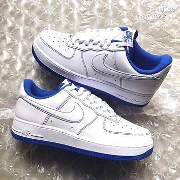 Nike Air Force 1 Low Men's and Women's All-match Sneakers Shoes