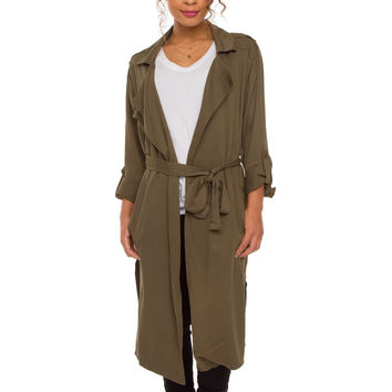 Margo Roth Trench Coat