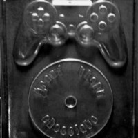 Cybrtrayd M216 Video Game Kit Chocolate Candy Mold with Exclusive Cybrtrayd Copyrighted Chocolate Molding Instructions