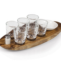Picnic Time Cantinero Shot Serving Tray 828-00-505