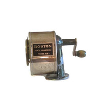 Vintage Boston Pencil Sharpener, Model KS