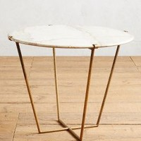 Slivered Boulder Table by Anthropologie