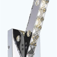 Frederique - Wall Sconce (3 Light Contemporary Crystal Wall Sconce) - 1751W5