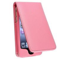 Light Pink Leather Case for Apple iPhone 4/4S [INSTEN]